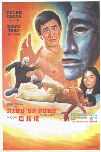Ring of Fury - Poster